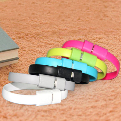 FREE - Flat Wire USB Phone Charger Bracelet