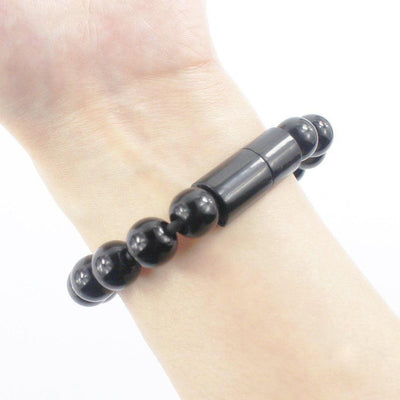 USB Phone Charger Bead Bracelet