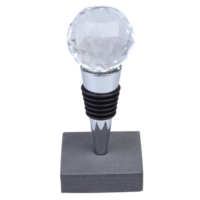 Crystal Elegant Wine Bottle Stopper