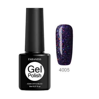 Glow In The Dark Glitter Nail Polish