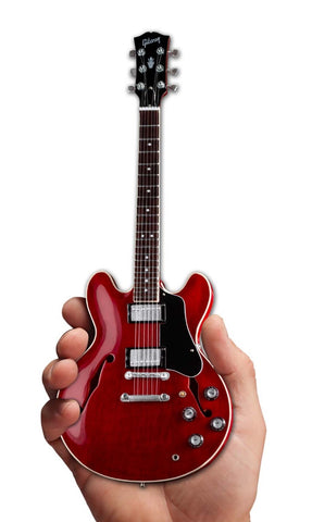 Axe Heaven Gibson ES-335 Faded Cherry Mini Guitar Collectible