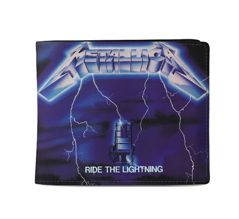 Metallica Ride the Lightning Wallet