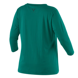 3/4 SLEEVE MOVEMENT TEE - GREEN
