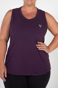 POWER WORKOUT TANK - PURPLE