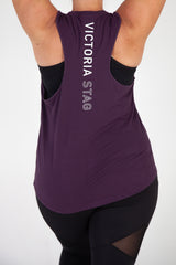 POWER WORKOUT TANK - PURPLE RAIN