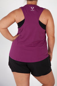 COMFORT WORKOUT TANK - ROYAL BLUSH