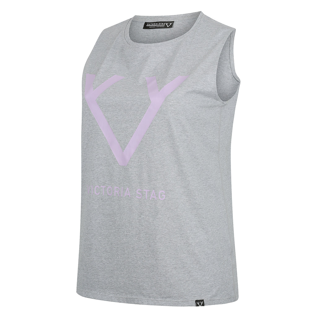 CORE MUSCLE TANK - GREY