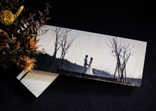"Panoramic : 5"" x 12"" Wood Print"