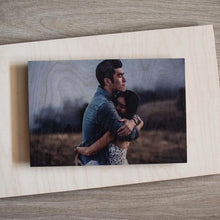 "Rectangle : 8"" x 12"" Wood Print"