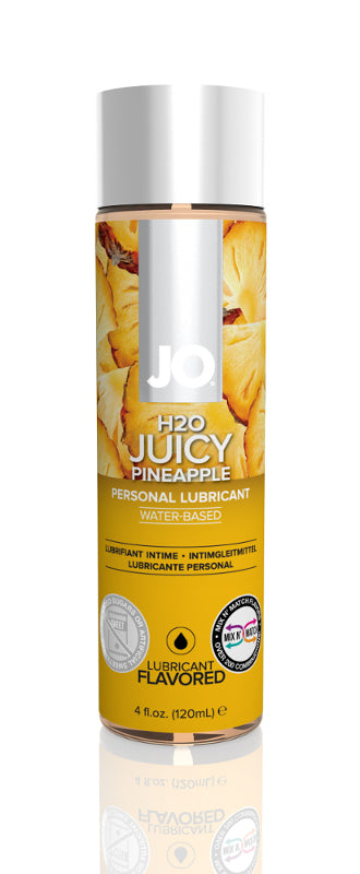 JO H2O Water Based Lubricant 4 Ounces  (Pineapple)