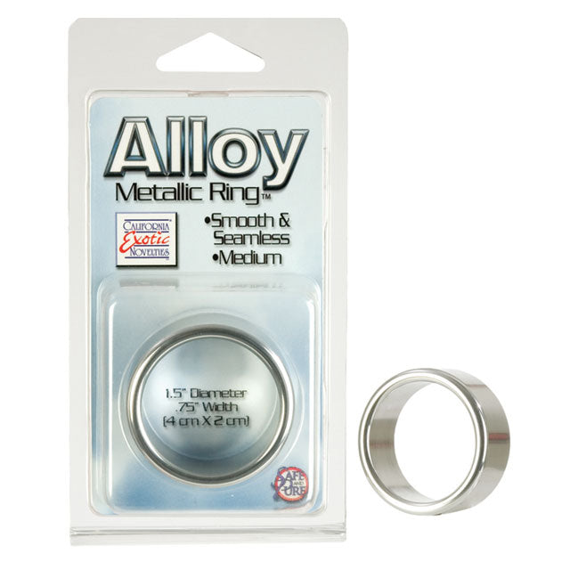 Alloy Metallic Ring Medium, Large, and Extra Large