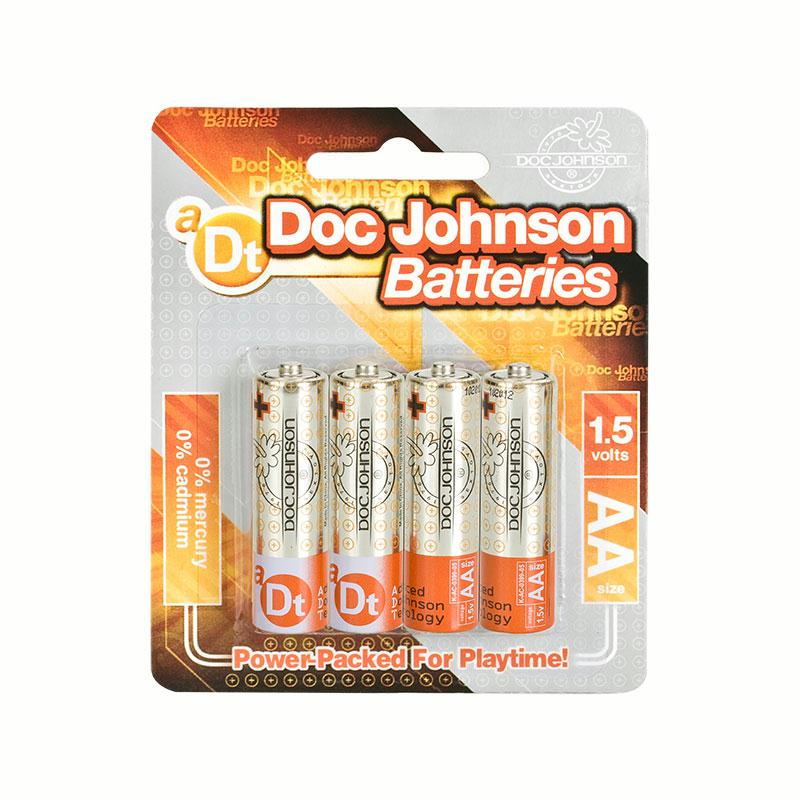 Doc Johnson AA Batteries -  4 Pack