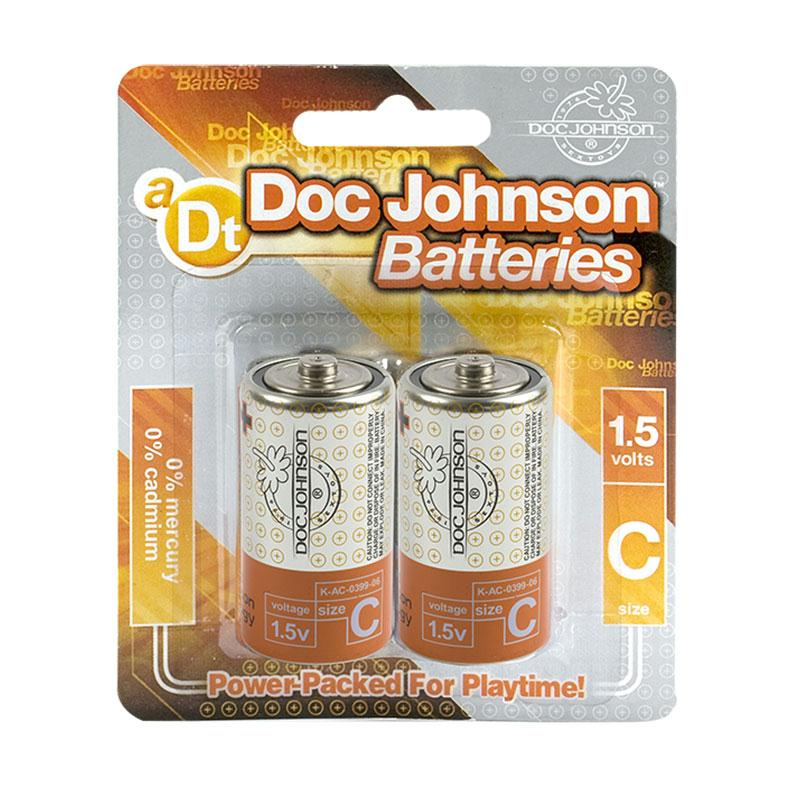Doc Johnson C Batteries -  2 Pack