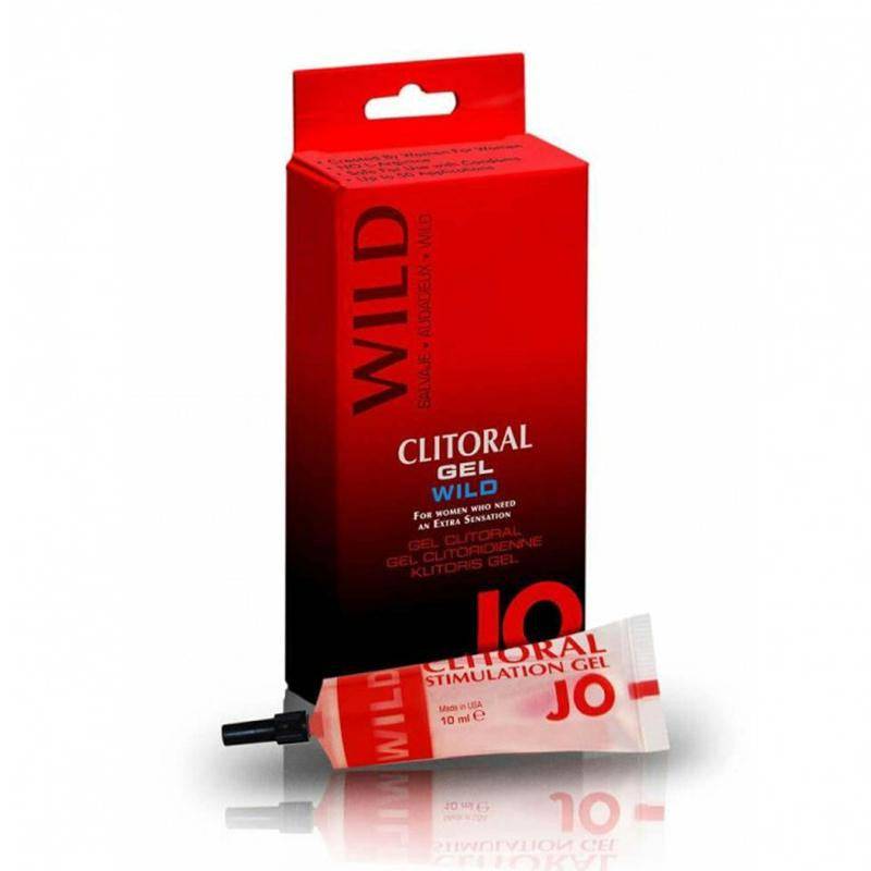 JO Spicy Clitoral Silicone Based Warming Stimulant 0.34 Fluid Ounces