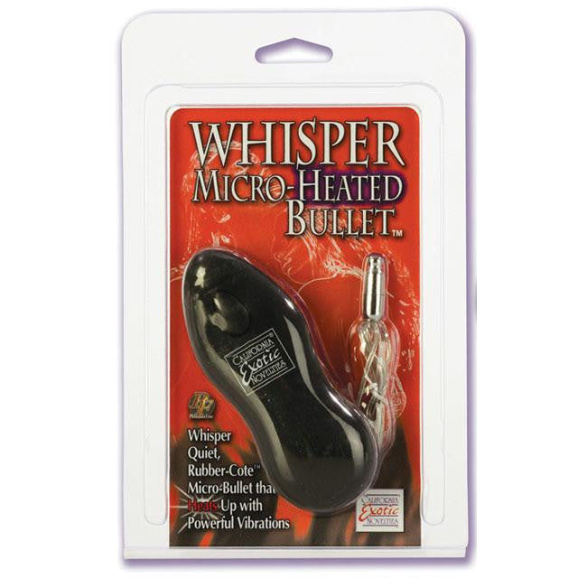 Whisper Micro-Heated Bullet  (Black, Pink,and Purple)