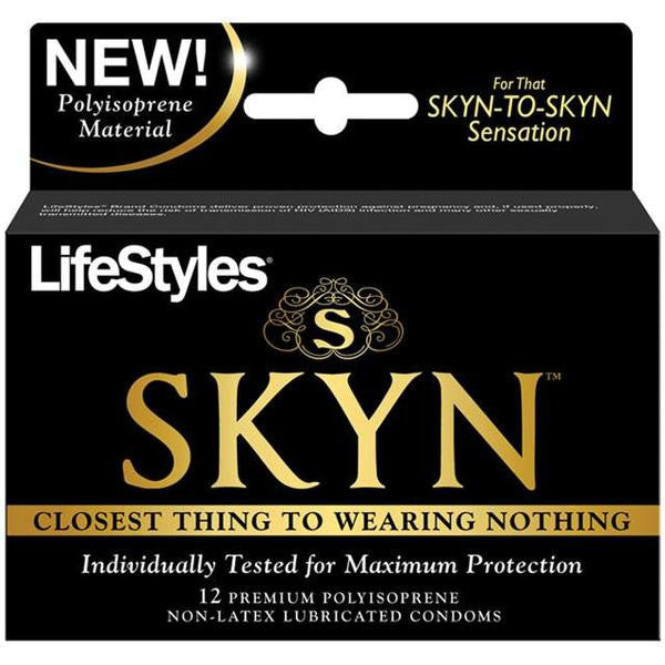 Lifestyles SKYN 3 Pack, 12 Pack, and 24 Pack