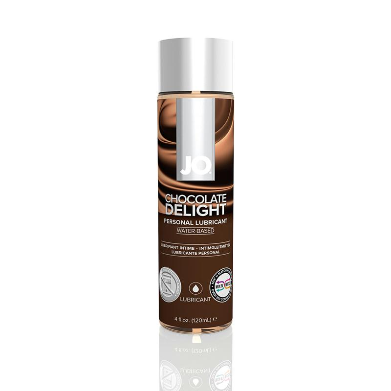 JO H2O Water Based Lubricant 4 Ounces  (Chocolate)