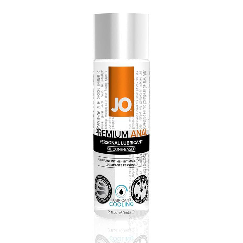 JO Premium Anal Cooling Silicone Based Lubricant 2 Ounces and 4 Ounces