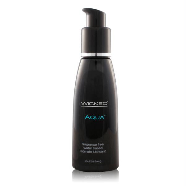 Wicked Aqua Lubricant 2 Ounces and 4 Ounces