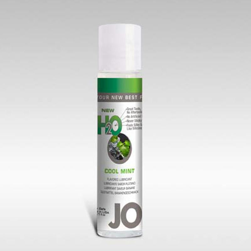 JO H2O Water Based Lubricant 1 Ounce  (Mint)