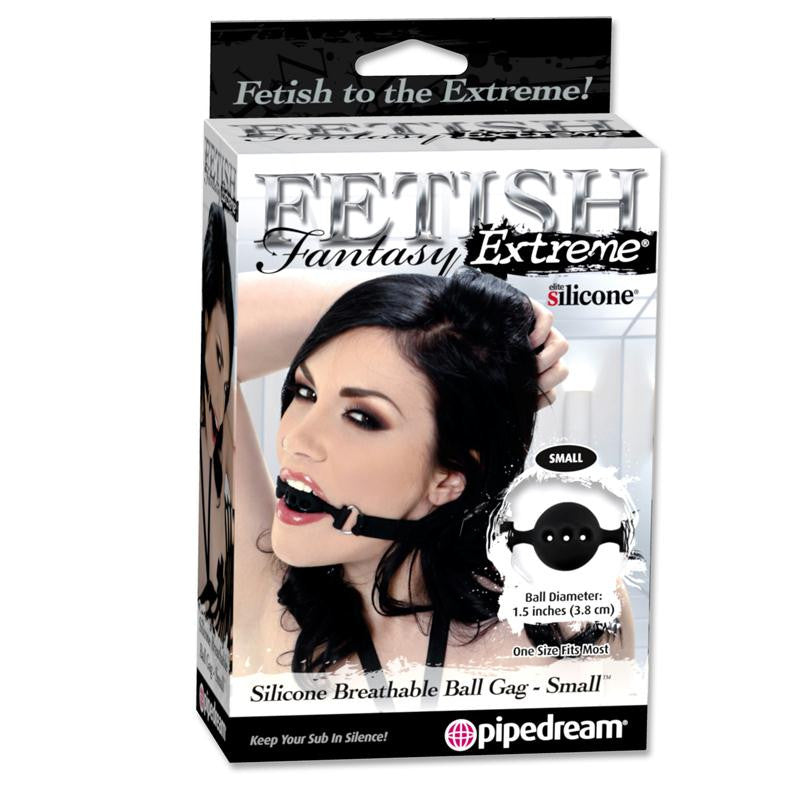 Fetish Fantasy Extreme Silicone Breathable Ball Gag  (Small, Medium, and Large)