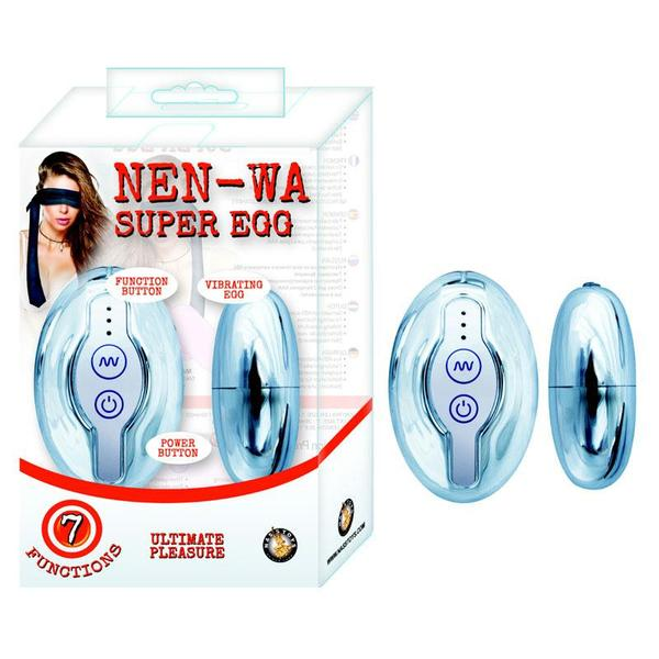 Nen-Wa Super Egg Multi-speed Waterproof  (Pink and Silver)