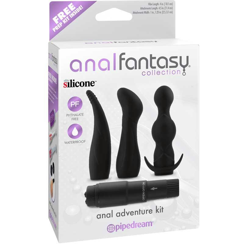 Anal Fantasy Collection Anal Adventure Kit  (Black)