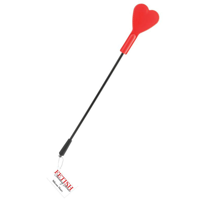 Fetish Fantasy Silicone Heart  (Black-Red)