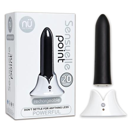 Sensuelle Point 20 Function Bullet  (Black, Pink, Purple, Silver, and Teal)