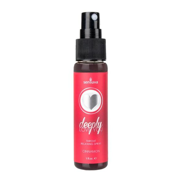 Deeply Love You Throat Relaxing Spray 1 Ounce  (Butter Rum, Chocolate Coconut, Chocolate Mint, Cinnamon, and Salted Caramel)