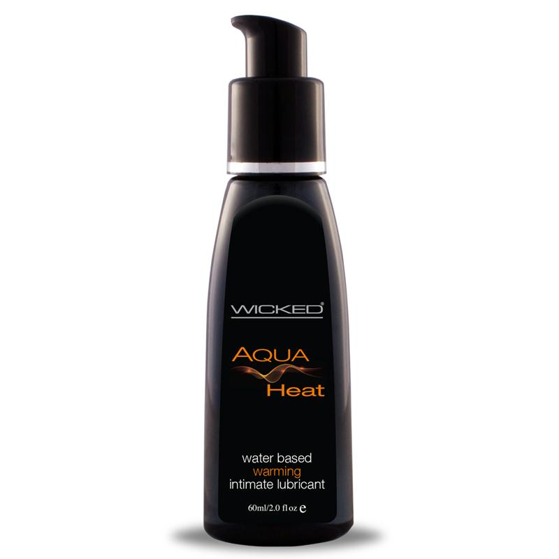Wicked Aqua Warming Lubricant 2 Ounces and 4 Ounces