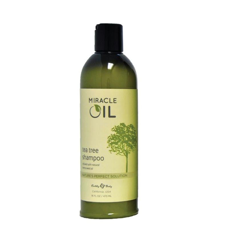 Earthly Body Miracle Oil Tea Tree Shampoo 16 Ounces