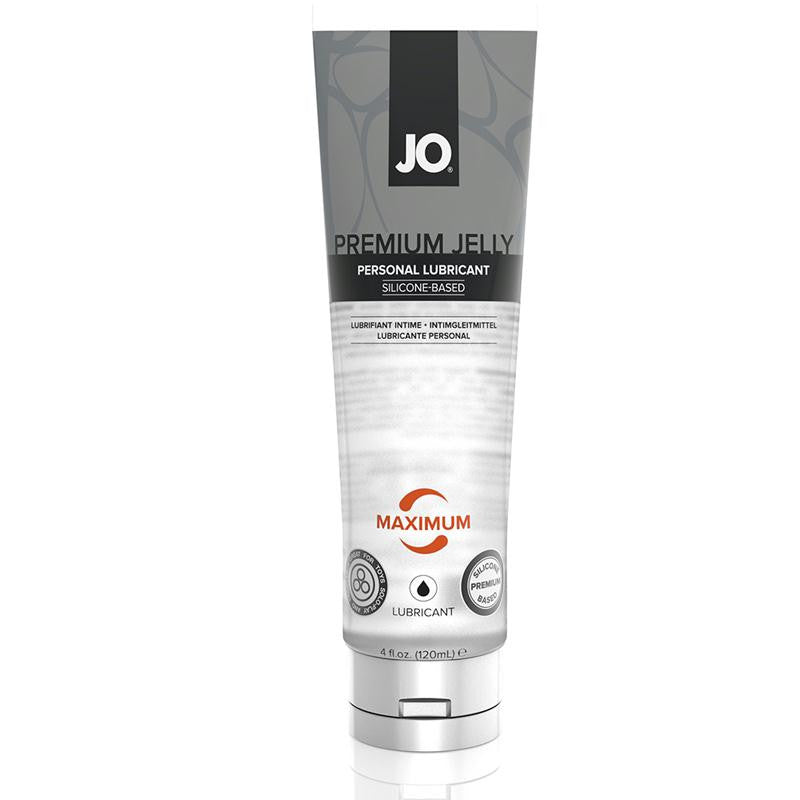 JO Premium Jelly Maximum Silicone Based Lubricant 4 Fluid Ounces