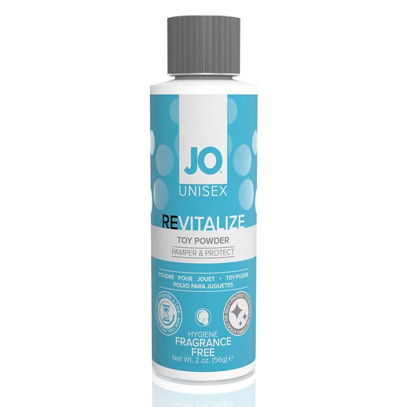 JO Revitalize Toy Powder Unisex 2 Ounces  (Fragrance Free)
