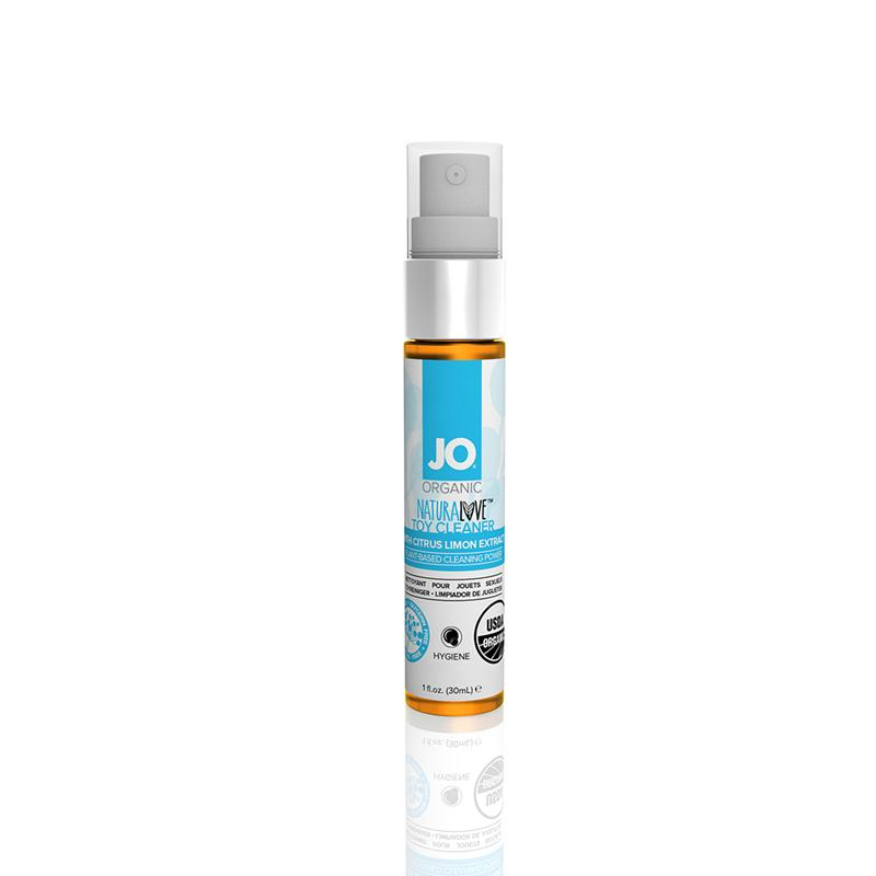 JO USDA Organic Toy Cleaner 1 Ounce and 4 Ounces  (Fragrance Free)