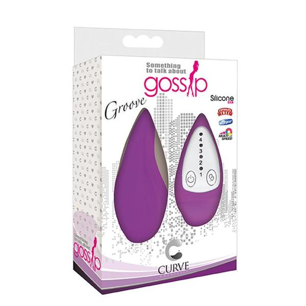 Gossip Groove 4 Speed Silicone  (Azure, Magenta, and Violet)