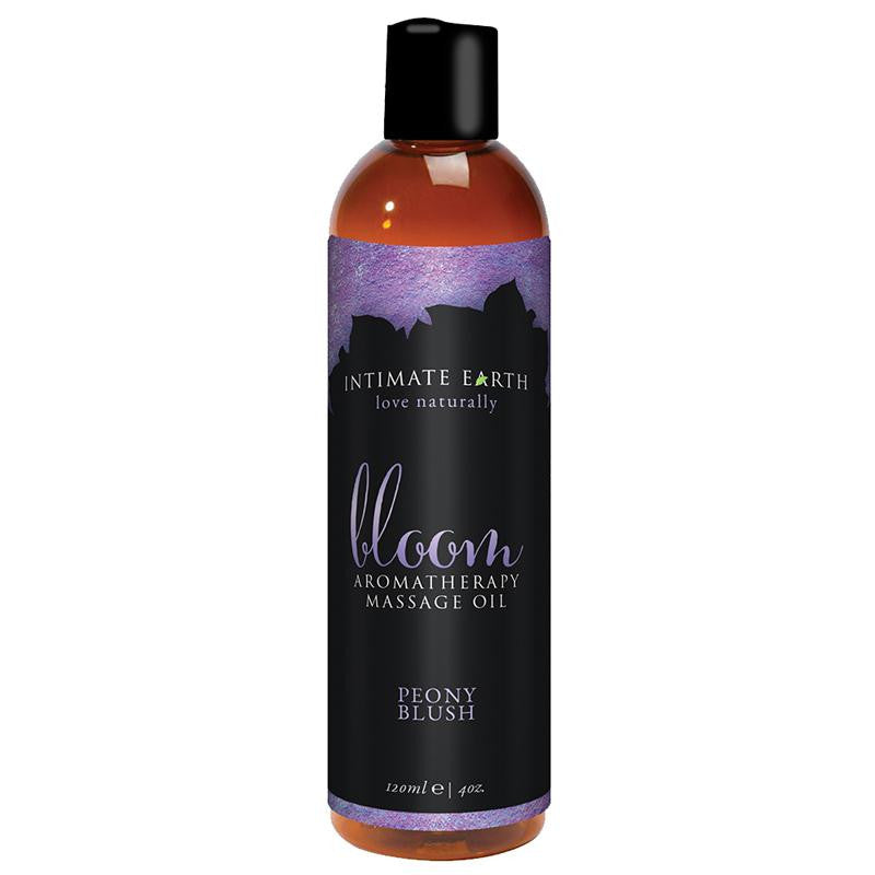 Intimate Earth Massage Oil 4 Ounces and 8 Ounces  (Bloom)