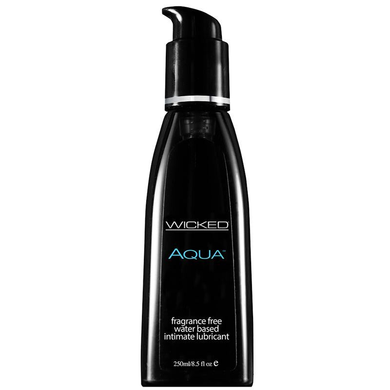 Wicked Aqua Fragrance Free Lubricant 8.5 Ounces