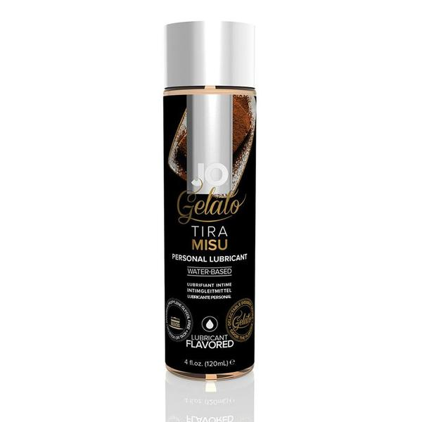 JO Gelato Water Based Lubricant 1 Ounce and 4 Ounces  (Tiramisu)