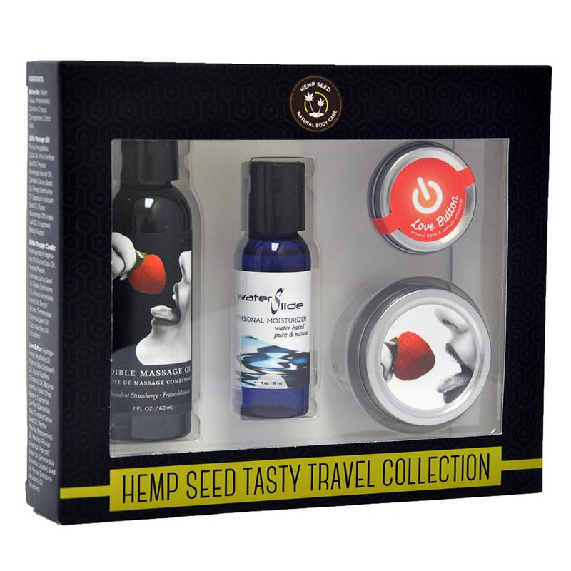 Earthly Body Tasty Travels Set  (Strawberry and Watermelon)