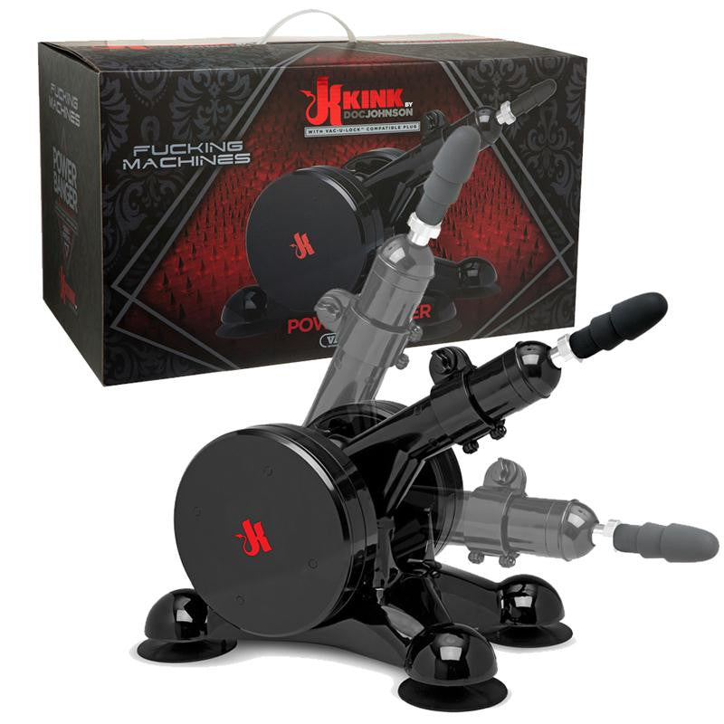 Kink Fucking Machines Power Banger  (Black)