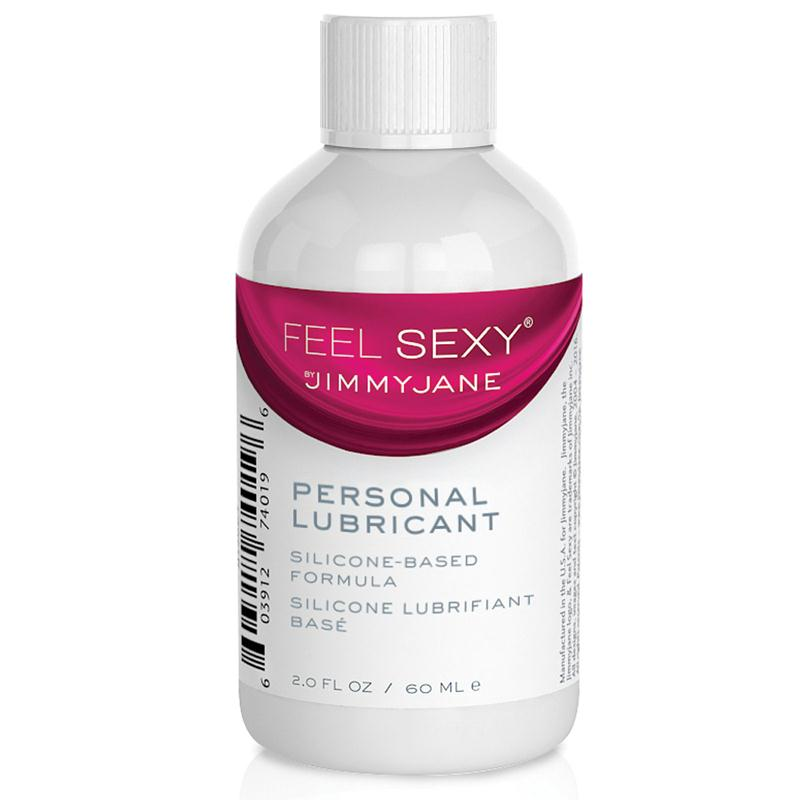 Jimmyjane Feel Sexy Personal Lubricant Silicone 2 Ounces, 4 Ounces, and 8 Ounces
