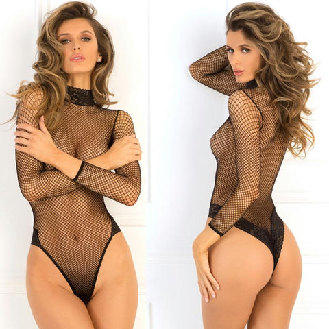 High Demand Bodysuit Black S-M