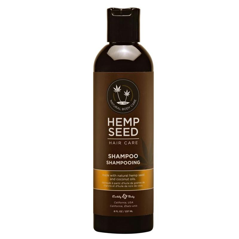 Earthly Body Hemp Seed Hair Care Shampoo 8 Ounces