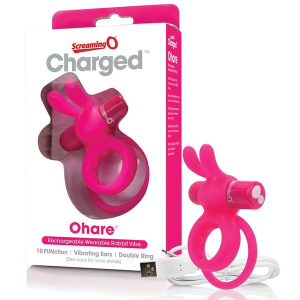 Screaming O Charged Ohare Vooom Mini Vibe  (Black and Pink)