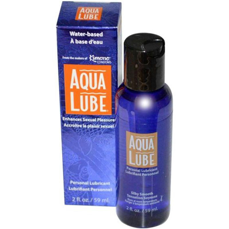 Aqua Lube Original 2 Ounces and 4 Ounces