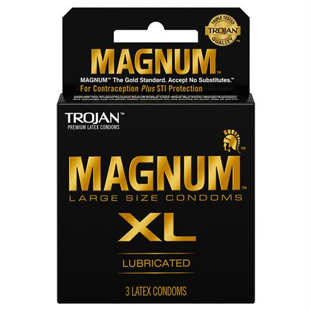 Trojan Magnum XL 3 Pack or 12 Pack