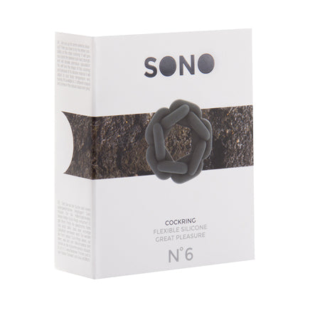Sono No.6 - Chain Cockring - Grey