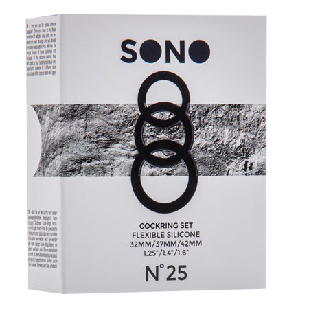 Sono No.25 - Cockring Set - Grey