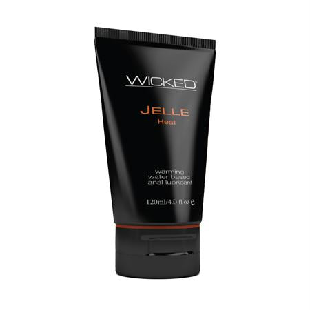 Wicked Jelle Anal Gel Warming Sensation Lubricant 4 Ounces